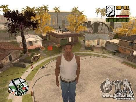 FLY Men-CJ wird steiler als Superman sein. für GTA San Andreas dritten Screenshot