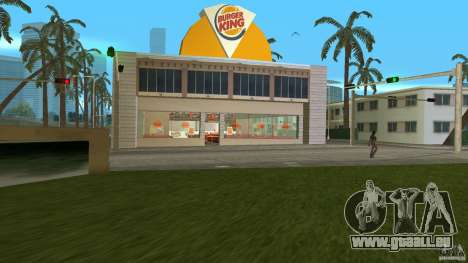 Burgerking-MOD für GTA Vice City