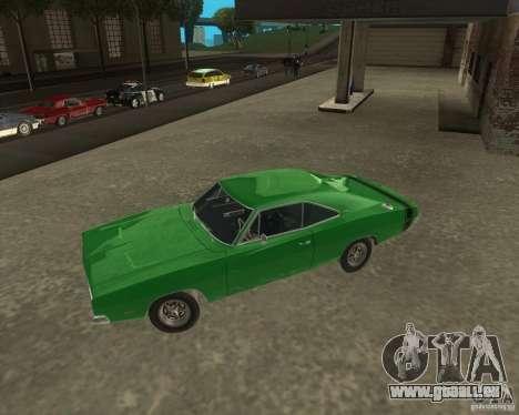 Dodge Charger für GTA San Andreas linke Ansicht