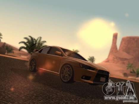 Mitsubishi  Lancer Evo X BMS Edition für GTA San Andreas
