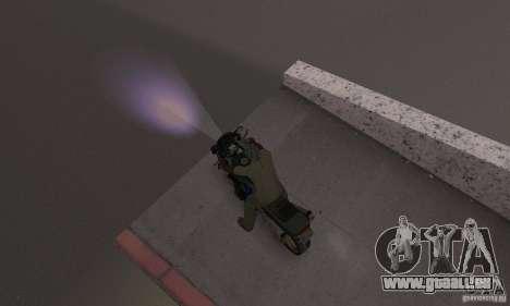 Lumières pourpres pour GTA San Andreas troisième écran