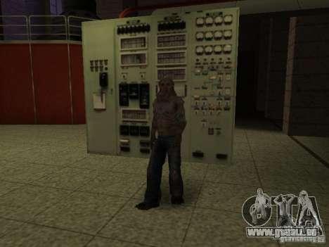 Contrôleur de S.T.A.L.K.E.R. pour GTA San Andreas