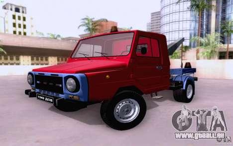 Camion de remorquage LuAZ 13021 pour GTA San Andreas