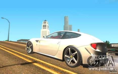 Ferrari FF pour GTA San Andreas laissé vue