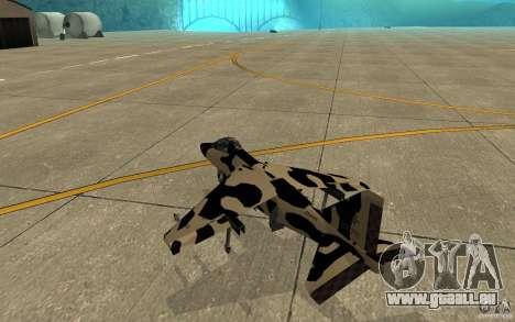 Camo Hydra für GTA San Andreas rechten Ansicht