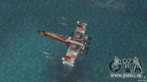 X-Wing Skimmer für GTA Vice City rechten Ansicht