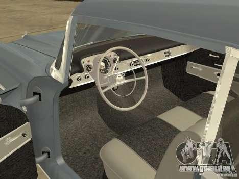 Chevrolet Bel Air 1957 für GTA San Andreas rechten Ansicht