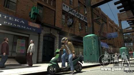 Energy Drink Helmets pour GTA 4 troisième écran