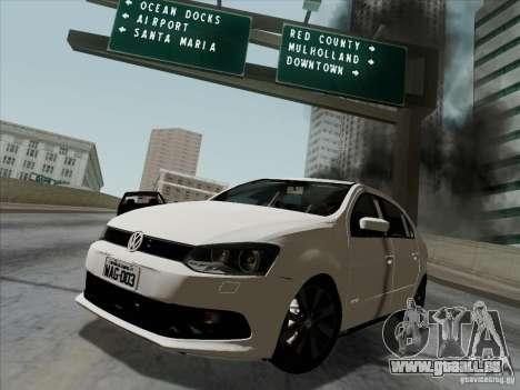Volkswagen Golf G6 v3 pour GTA San Andreas