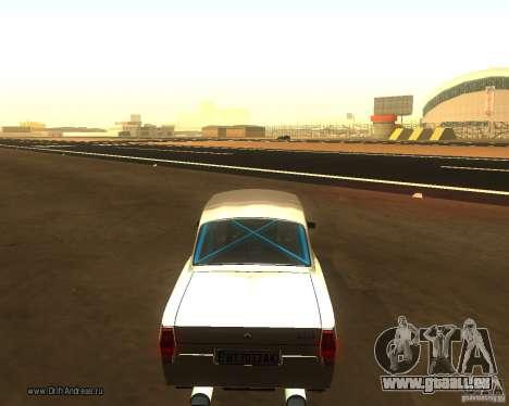 Gaz Volga 2410 Drift Edition pour GTA San Andreas laissé vue
