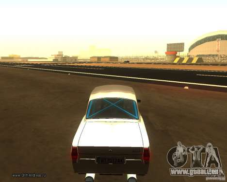 GAZ Volga 2410 Drift Edition für GTA San Andreas linke Ansicht