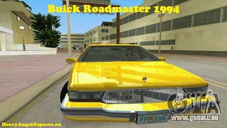 Buick Roadmaster 1994 pour GTA Vice City