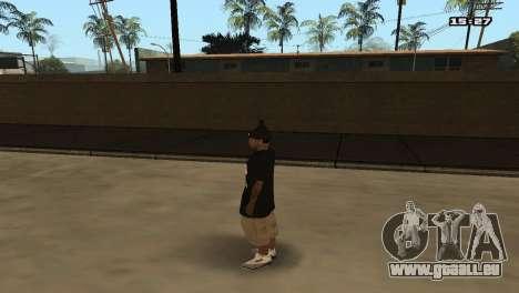 Skin Pack Ballas für GTA San Andreas neunten Screenshot
