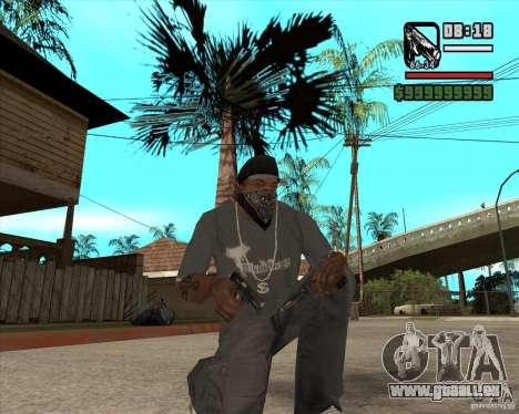 Armes de Pak de Fallout New Vegas pour GTA San Andreas troisième écran