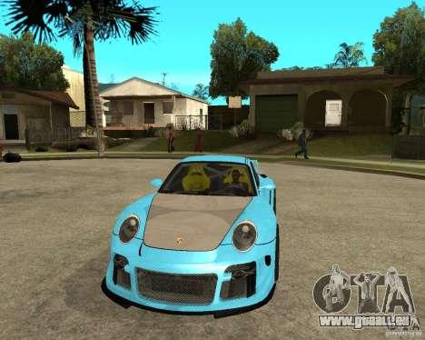 Porsche 911 Turbo Grip Tuning für GTA San Andreas Rückansicht