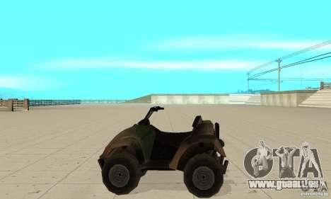 ATV de TimeShift pour GTA San Andreas laissé vue