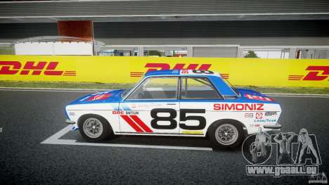 Datsun Bluebird 510 1971 BRE pour GTA 4 est une gauche