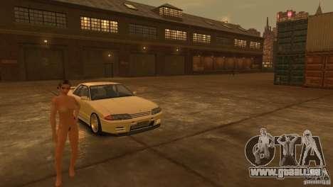 Nissan Skyline R32 für GTA 4 Seitenansicht