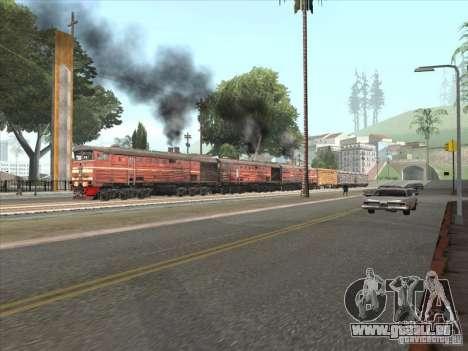 3TÈ10M-1199 pour GTA San Andreas sur la vue arrière gauche