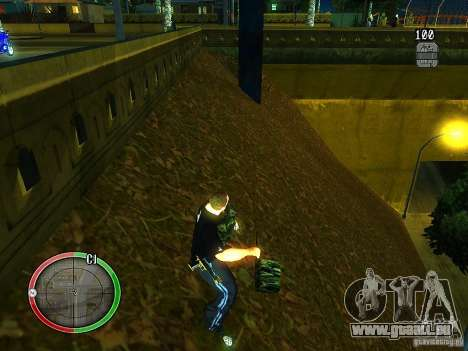 Le nouvel explosif pour GTA San Andreas quatrième écran