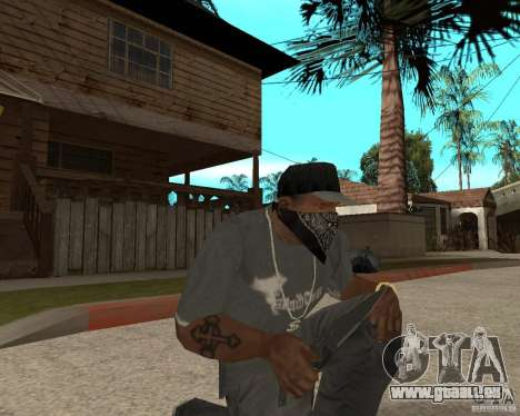 New knife für GTA San Andreas