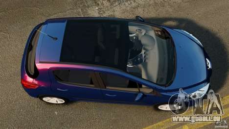 Peugeot 308 2007 pour GTA 4 est un droit