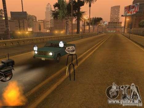 Meme Ivasion Mod für GTA San Andreas neunten Screenshot