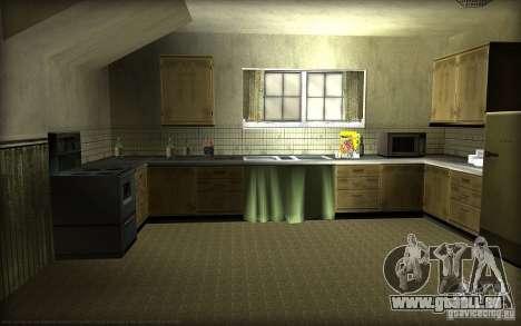 Nouvelles textures pour la maison Džonsonov pour GTA San Andreas