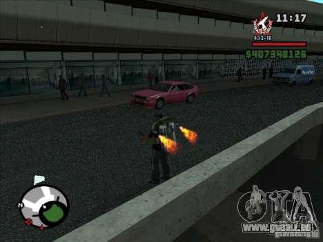 Ein neuer Flughafen in San Fierro für GTA San Andreas sechsten Screenshot