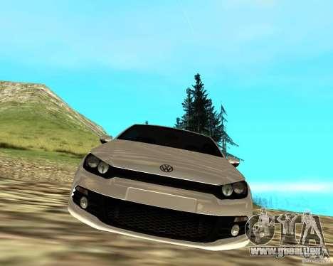 VW Scirocco III Custom Edition für GTA San Andreas rechten Ansicht