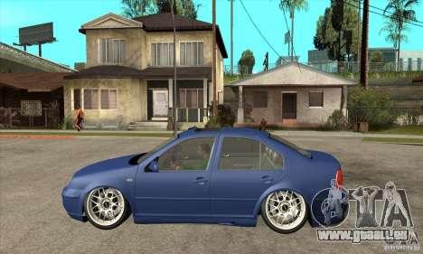 VW Bora VR6 Street Style für GTA San Andreas linke Ansicht