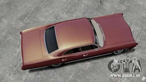 Chevrolet Impala 1967 pour GTA 4 est un droit