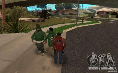 Skins Grove Street pour GTA San Andreas