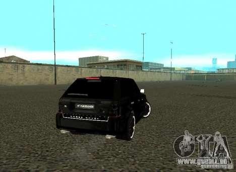 Land Rover Range Rover Sport Hamann pour GTA San Andreas vue de droite