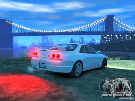 Nissan Skyline GT-R V-Spec (R33) 1997 pour GTA 4 est un droit