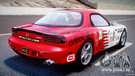 Mazda RX-7 1997 v1.0 [EPM] pour GTA 4 Vue arrière de la gauche