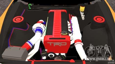 Toyota Supra Tuning für GTA 4 Seitenansicht