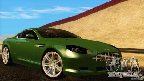 Aston Martin DB9 für GTA San Andreas Innen