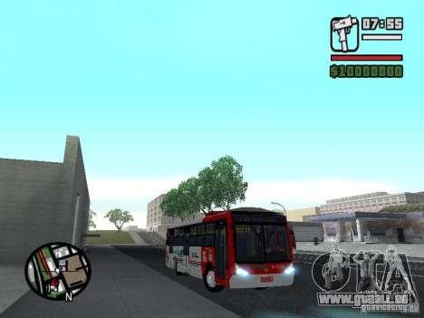 Caio Millennium TroleBus pour GTA San Andreas vue arrière