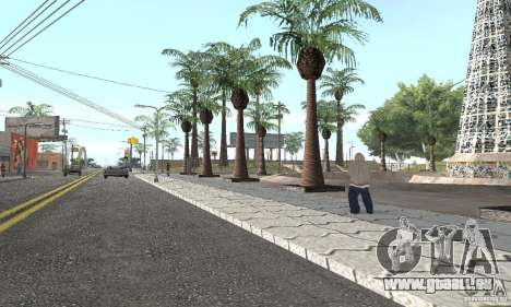 Grove Street 2012 V1.0 pour GTA San Andreas sixième écran