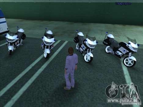 CopBike für GTA San Andreas linke Ansicht
