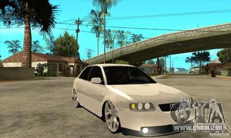 Audi A3 für GTA San Andreas Rückansicht