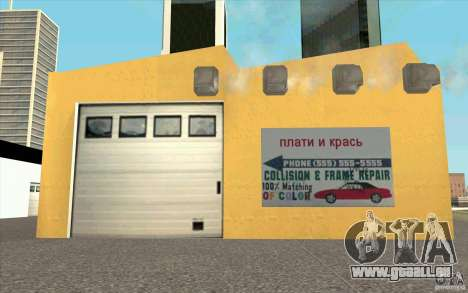 UkrAVTO Corporation für GTA San Andreas dritten Screenshot