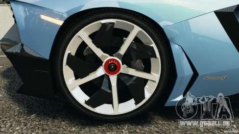 Lamborghini Aventador J 2012 pour GTA 4 est un côté