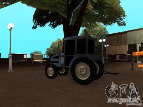 Tracteur МТЗ 922 pour GTA San Andreas vue de droite