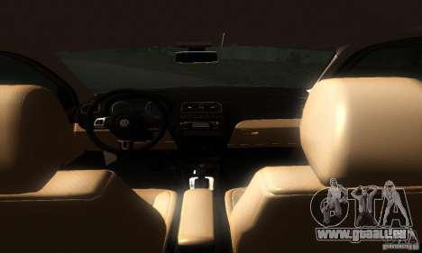Volkswagen Polo 1.2 TSI pour GTA San Andreas vue arrière
