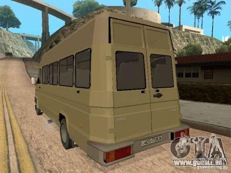 Iveco Turbo Daily pour GTA San Andreas vue de droite