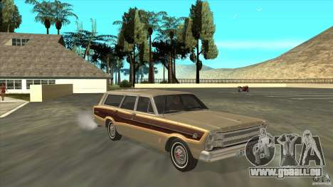 Ford Country Squire 1966 pour GTA San Andreas vue arrière