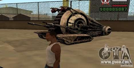 Alliance Tank Droid pour GTA San Andreas