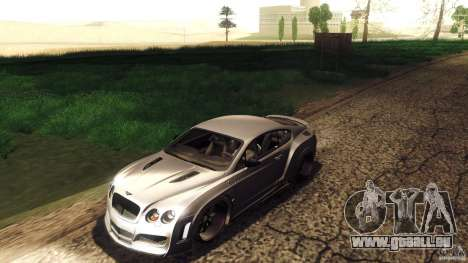 Bentley Continental GT Premier4509 2008 Final für GTA San Andreas obere Ansicht
